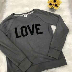 Victoria's Secret PINK V-Neck Sweatshirt